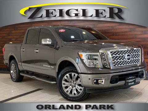 Pre-Owned 2019 Nissan Titan Platinum Reserve
