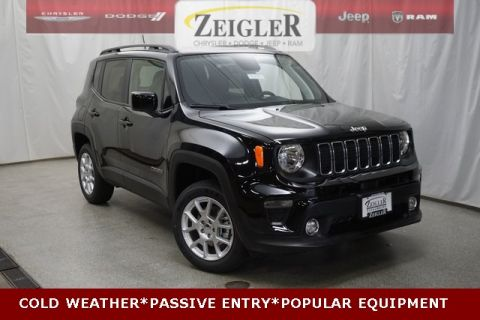 New 2019 JEEP Renegade Latitude